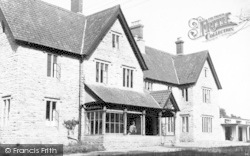 Butleigh, Hospital And Nurses Home c.1955