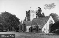 Butleigh, St Leonard's Church c.1955