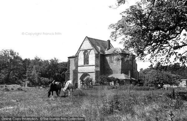 Butley, the Priory c1955