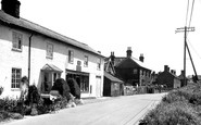 Butley, the Street and Post Office c1955