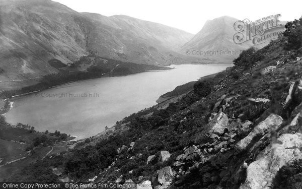 Buttermere, From Red Pike 1889