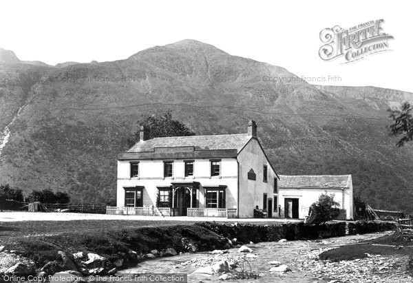 Buttermere, The Hotel c.1873