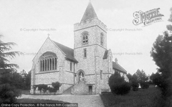 Buxted, Church Of St Mary The Virgin 1902