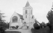 Buxted, Church Of St Mary The Virgin 1902