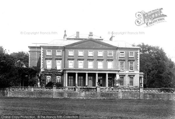 Photo of Buxted, Park House 1902