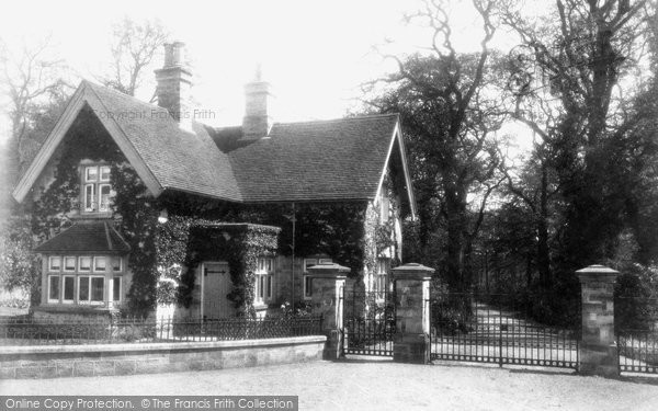 Buxted, Park Lodge 1902