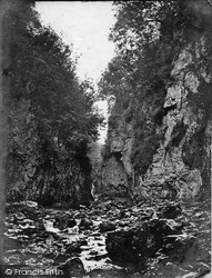 Buxton, Ashwood Dale, Lover's Leap c.1876