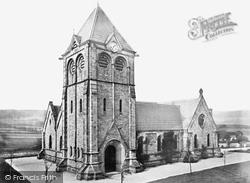 Burbage Church c.1862, Buxton