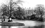 Buxton, Buxton Hall Gardens, The Island c.1862