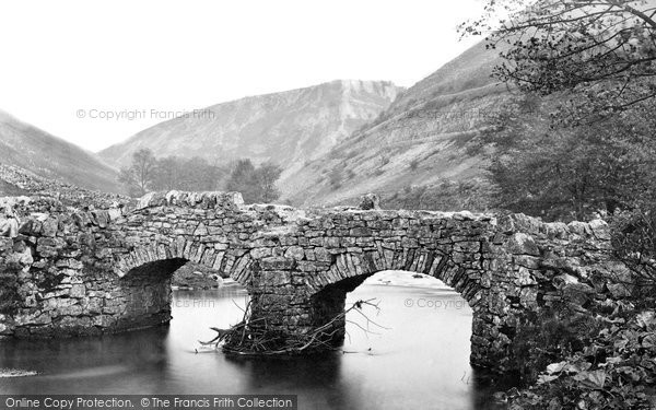 Buxton, Cowlow Bridge And Topley Pike c.1870