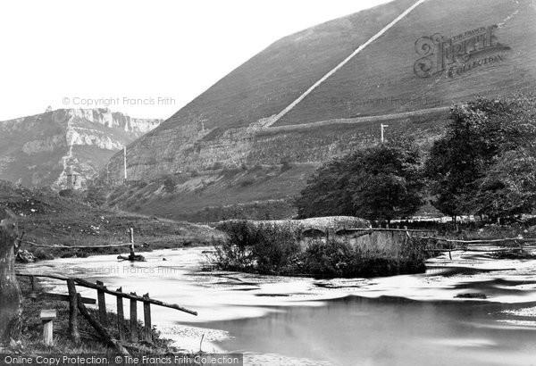 Buxton, Cowlow Bridge And Topley Pike c.1876