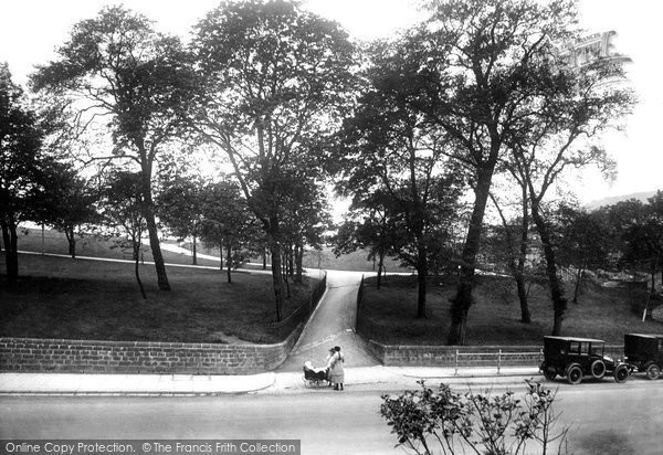 Buxton, Crescent Walks 1923