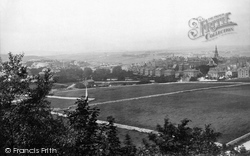 Buxton, From Above Poole's Caverns 1894