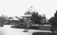 Buxton, Gardens, Pavilion 1890