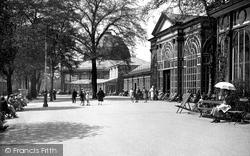 Buxton, Gardens, The Promenade 1915