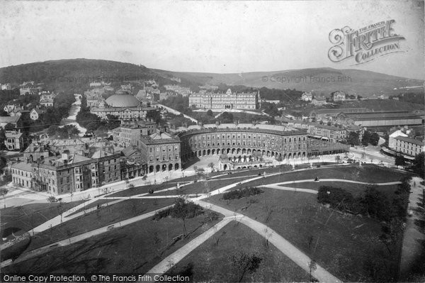 Buxton, General View c.1890