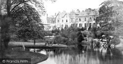 Pavilion Gardens c.1872, Buxton