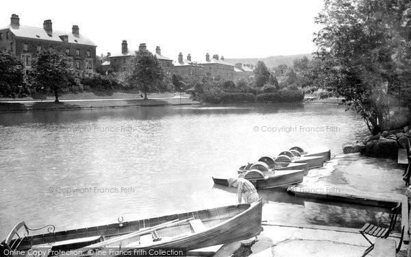 Buxton, Pavilion Gardens, The Upper Lake 1932