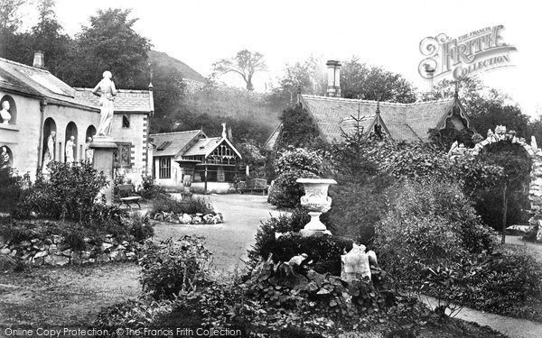Buxton, Poole's Cavern Gardens c.1862