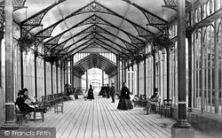 Promenading Corridor, The Pavilion c.1872, Buxton