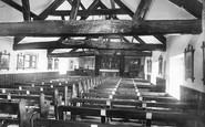 Buxton, St Anne's Church Interior 1890