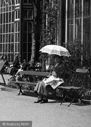 Buxton, Taking A Rest 1915