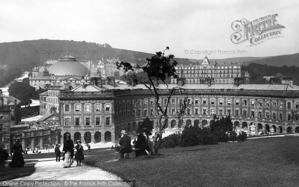 Buxton, The Crescent 1886