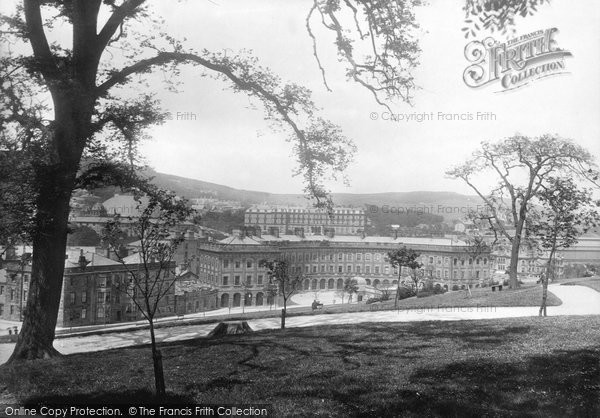 Buxton, The Crescent 1894