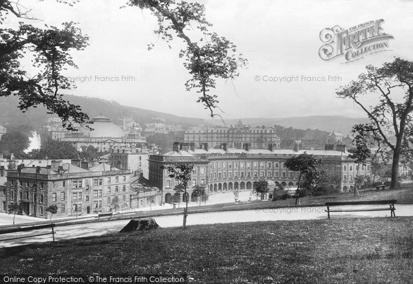 Buxton, The Crescent 1896