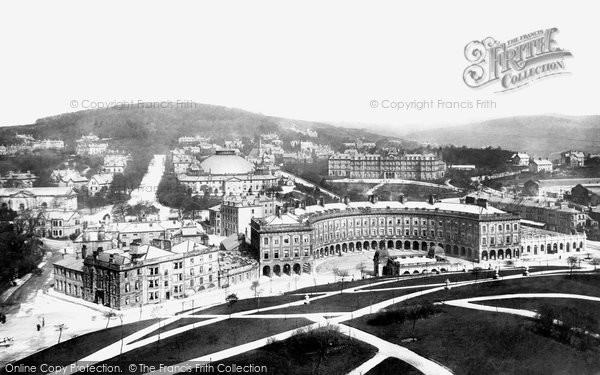 Buxton, The Crescent 1902