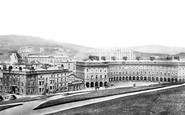 Buxton, The Crescent c.1870