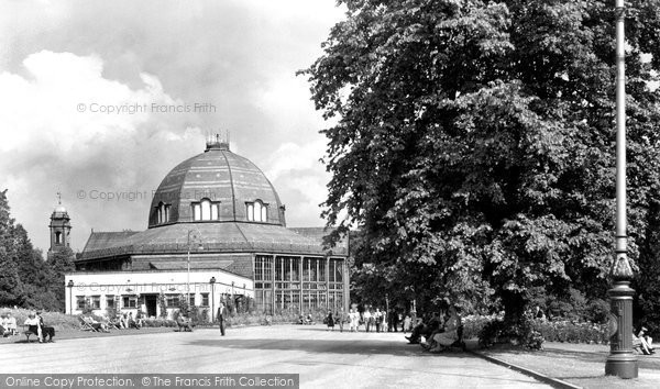 Buxton, The Pavilion c.1955
