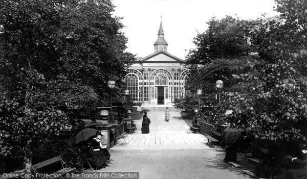 Buxton, The Pavilion Gardens 1886