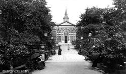 The Pavilion Gardens 1886, Buxton