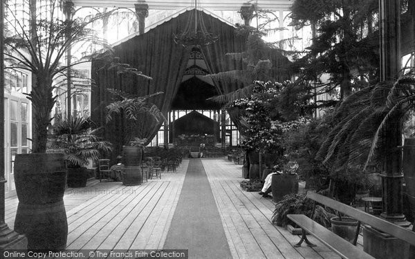 Buxton, The Pavilion, Interior 1890