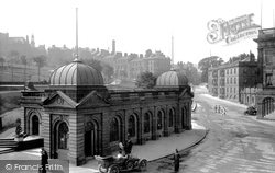Buxton, The Pump Room 1914