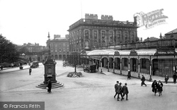 Buxton, Thermal Baths And Crescent Hotel 1923