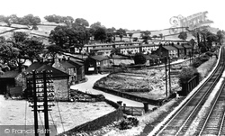 Brierley Green And Brierley Park c.1955, Buxworth