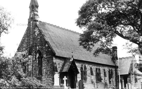 Photo of Buxworth, St James Church c.1950