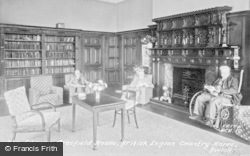 Bwlch, The Library, Crosfield House, British Legion Country Home c.1950