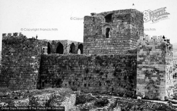 Photo of Byblos, Castle 1965