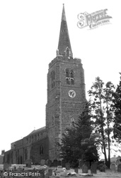 Church Of The Holy Cross c.1955, Byfield