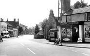 Byfleet, High Road c1960