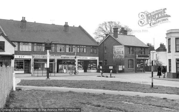 Photo of Byfleet, Plough Corner c1955