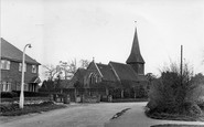 Byfleet, St Mary's Church c.1955