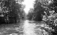 Byfleet, The Old River Wey c.1960