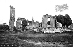 Byland Abbey, From East c.1866