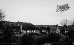 General View c.1965, Byland Abbey