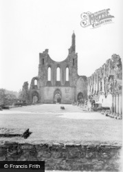 West End Of Nave c.1965, Byland Abbey