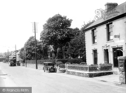 Bynea, Bynea Road 1936